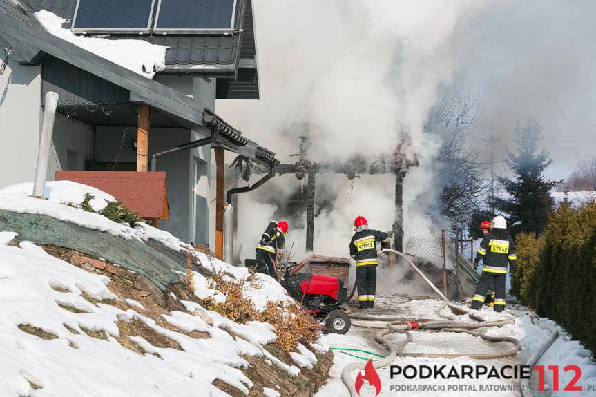 Pożar w Dobieszynie