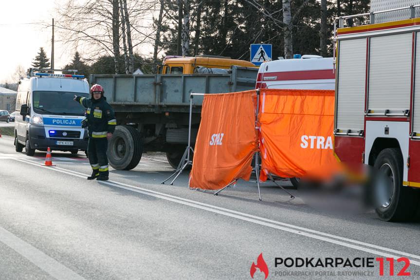 Śmiertelne wypadki w Krośnie