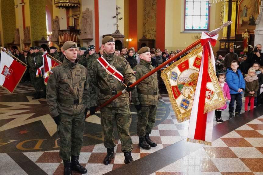 Uroczysta przysięga żołnierzy 3.Podkarpackiej Brygady Obrony Terytorialnej