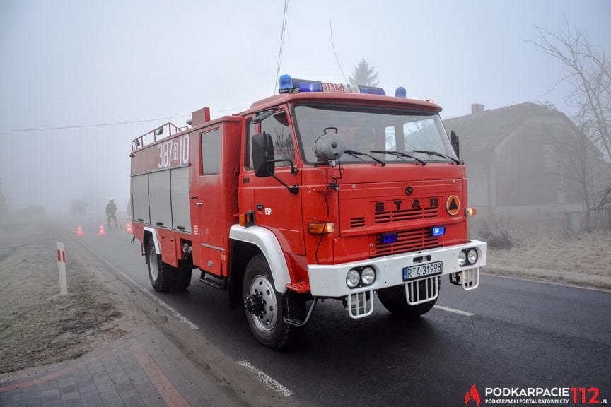 Wypadek DW872 Knapy