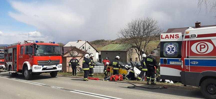 Wypadek w Czaszynie