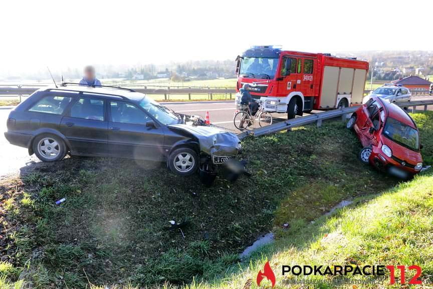 Wypadek w Iskrzyni na DK19