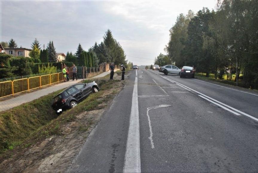 Wypadek w miejscowości Zabłotce