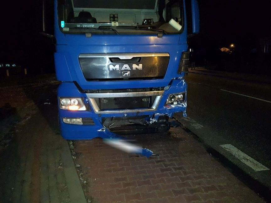 Wypadek w miejscowości Żółków